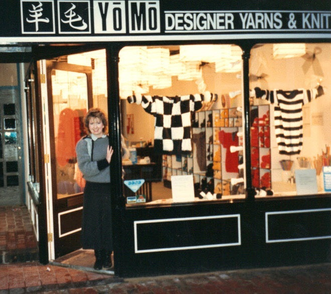 Cheryl Lampard and her store
