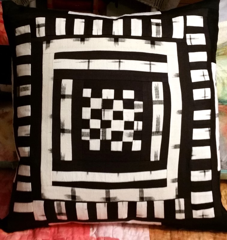 Black and White pillow 1