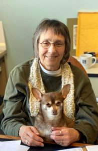 Janice Gatti and her dog