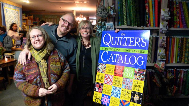 Quilters Catalog book launch