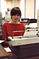 Meg as a journalist