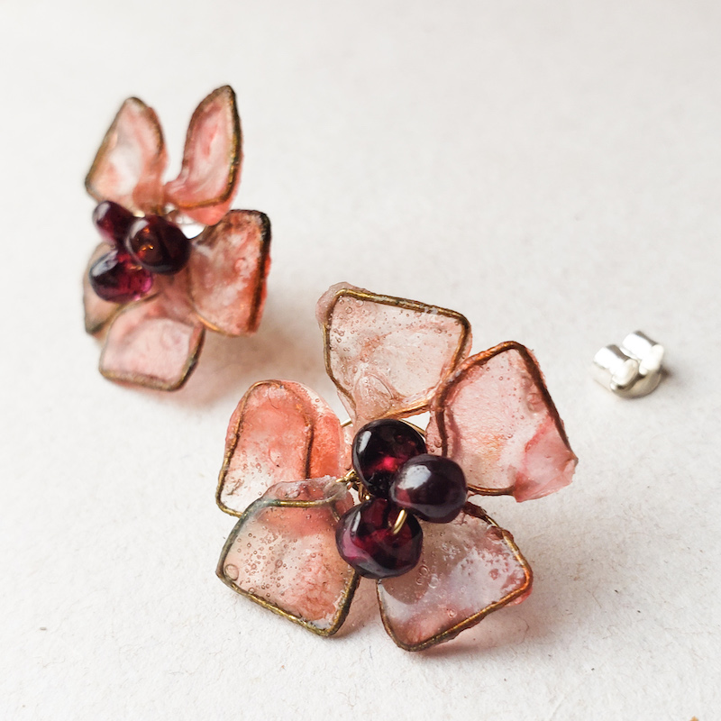 Melanie Brauner Dogwood earrings