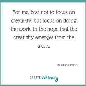 Millie Cumming Quote
