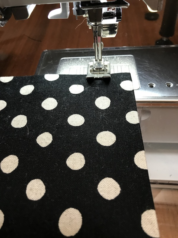 Finishing the top of the pocket
