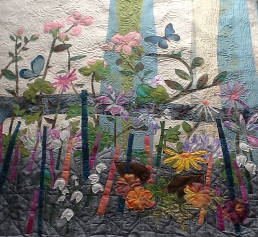Flower quilt by Al