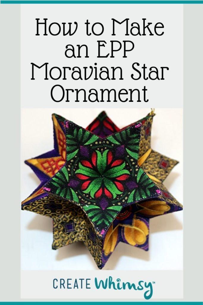 EPP Moravian Star Pinterest 13