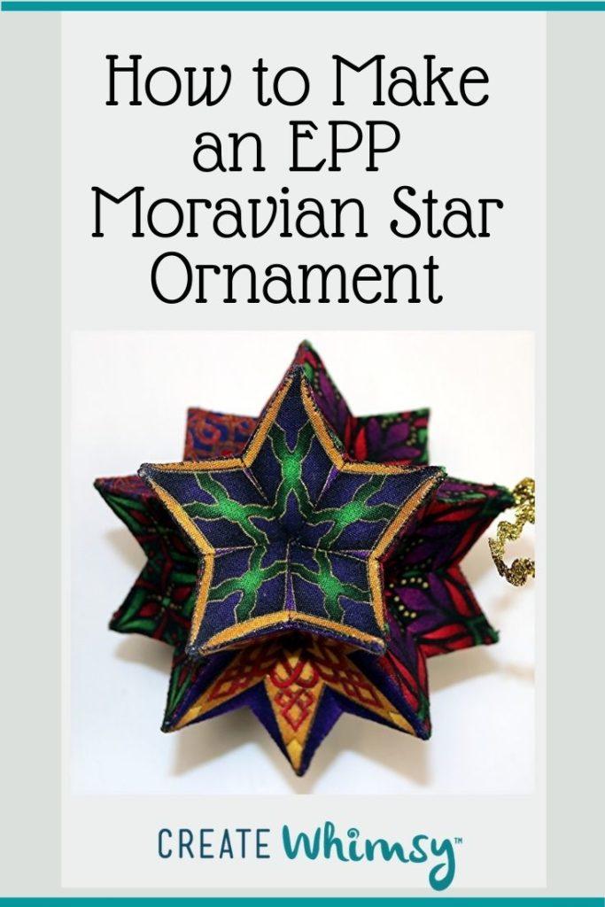 EPP Moravian Star Pinterest 14