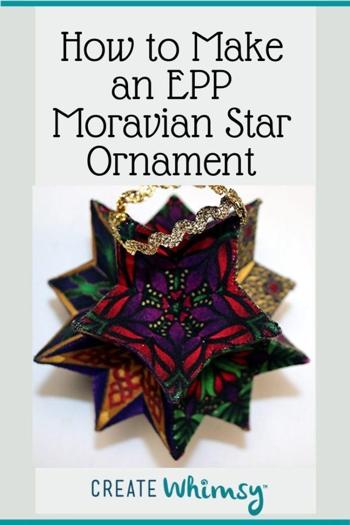 EPP Moravian Star Pinterest 16