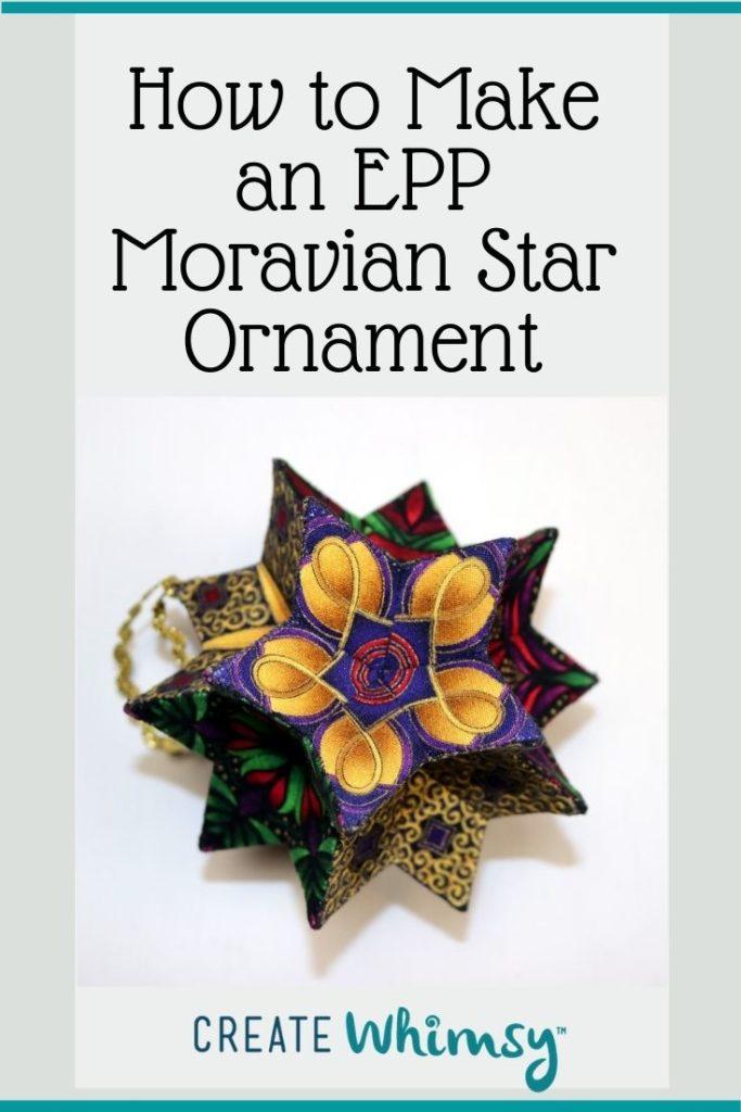 EPP Moravian Star Pinterest 19