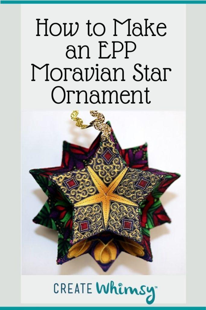 EPP Moravian Star Pinterest 21