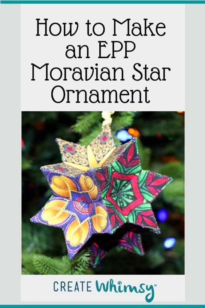 EPP Moravian Star Pinterest 5