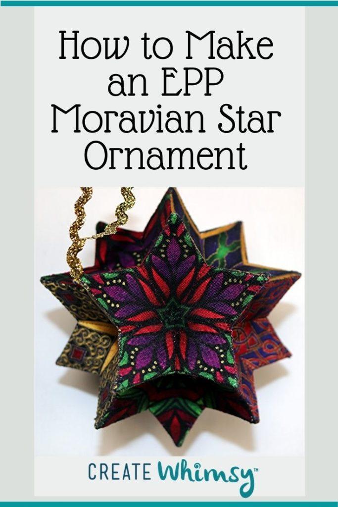 EPP Moravian Star Pinterest 6
