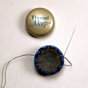 EPP Tree-Shaped Ornament with Hexies-9-Thread needle and condition thread