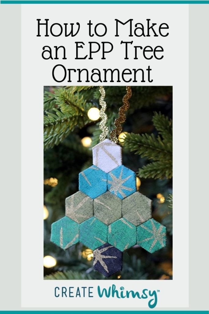EPP Tree ornament Pinterest 1