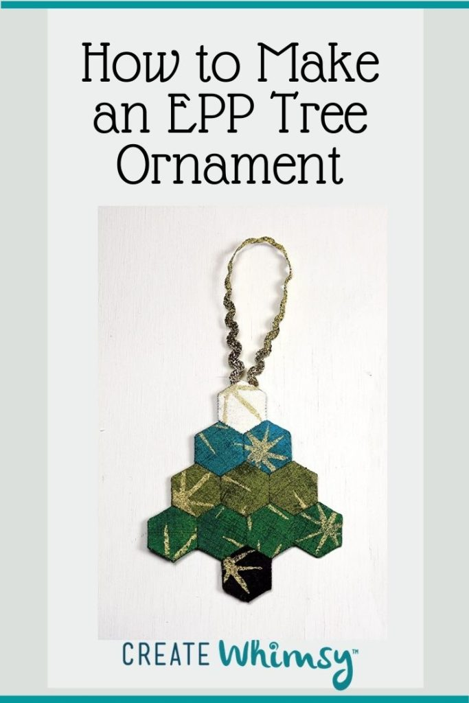 EPP Tree ornament Pinterest 2