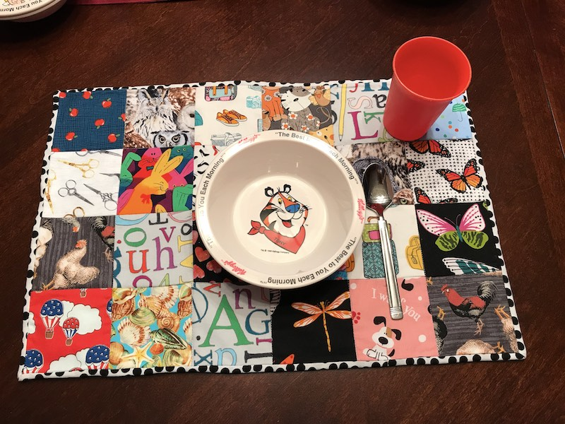 How to Make an I Spy Placemat