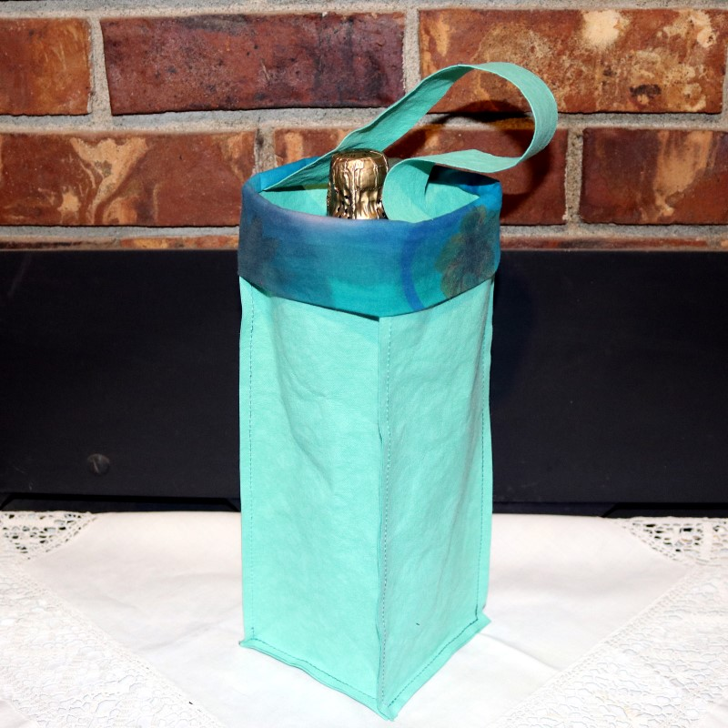 Kraft-tex Wine Bag-Finished with Champagne