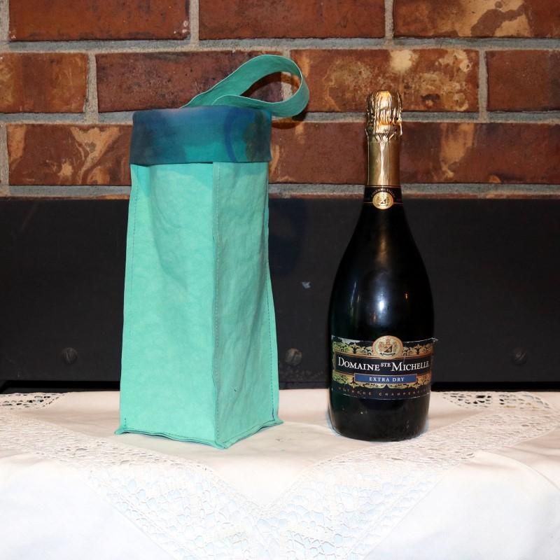 Kraft-tex Wine Bag-Next to Champagne
