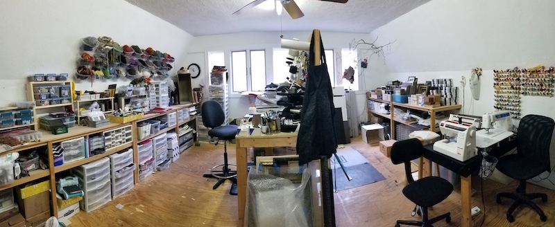 Michele's studio