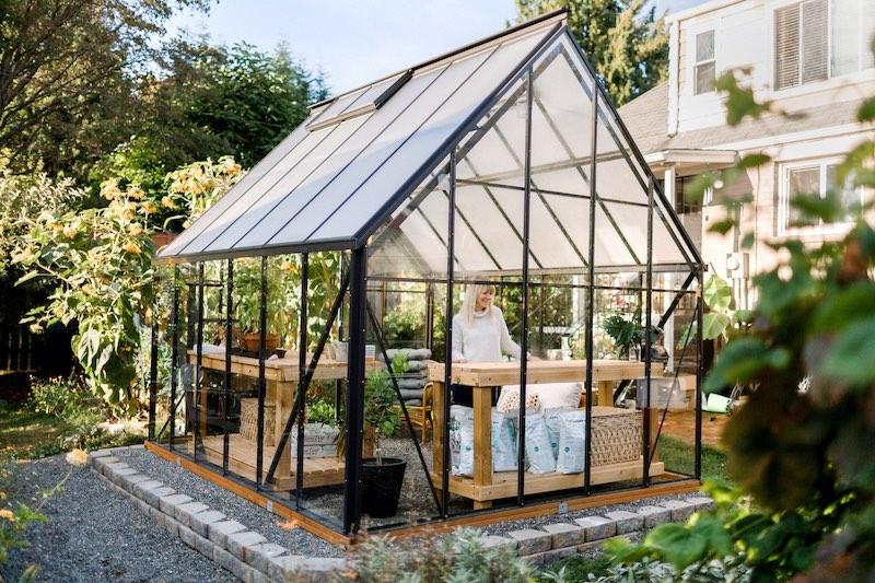 Sarah's greenhouse