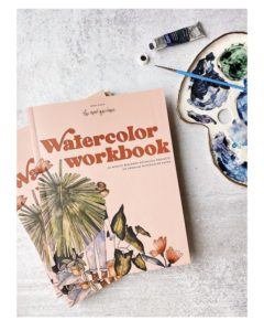 Watercolor Workbook by Sarah Simon
