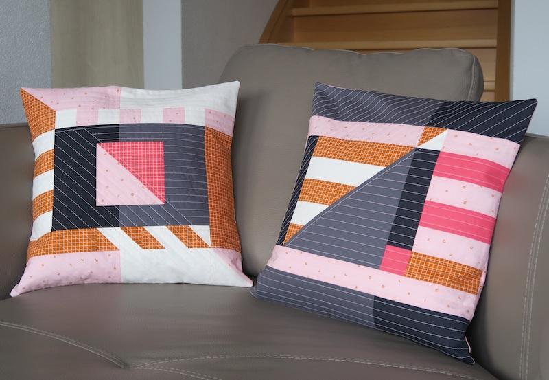 Sophie Zaugg diagonal pillows