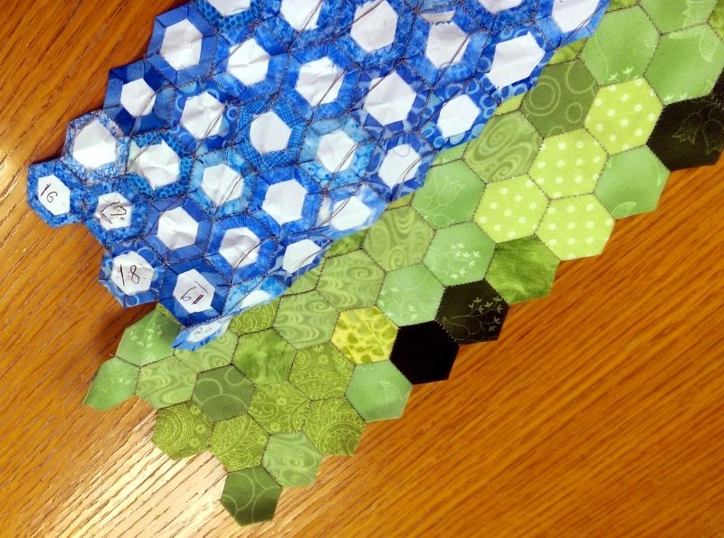 grouping columns of hexies