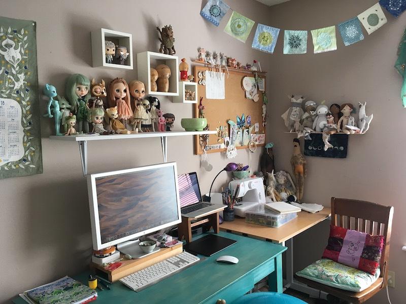 Aimee's studio
