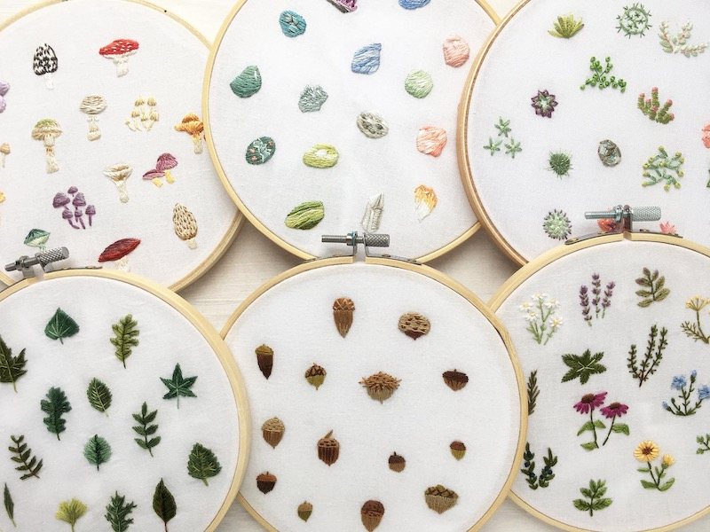 Tiny Embroidery by Aimee
