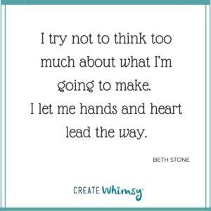 Beth Stone Quote