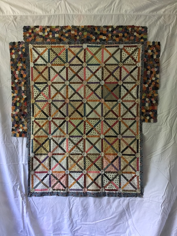 First idea for 1810 quilt