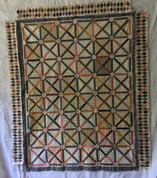 1810 quilt in its present stage