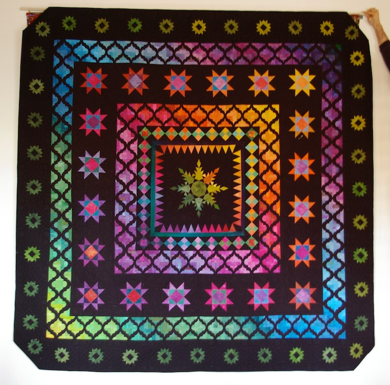 Colorful quilt by Cinzia