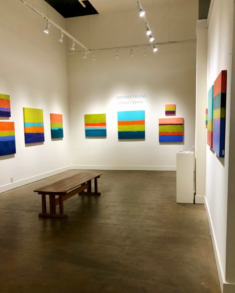 Emotional Alignments show at gallery