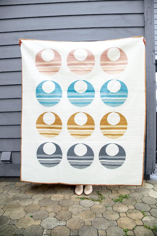 Circles in circles quilt
