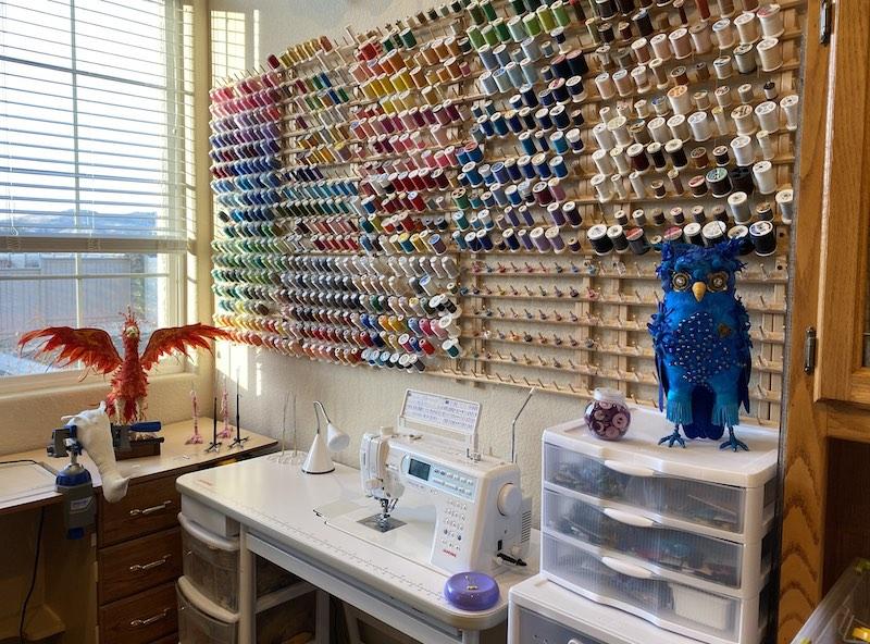 Linda Blust's studio