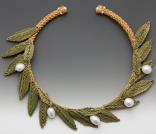 Olivia necklace by Maggie Meister