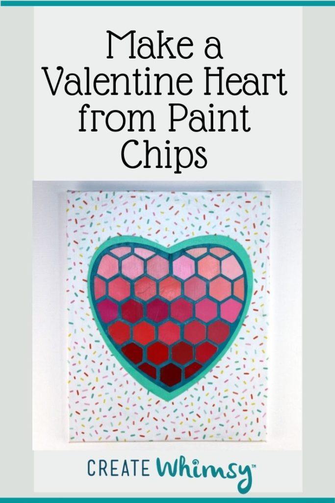 Paint Chip Heart 1