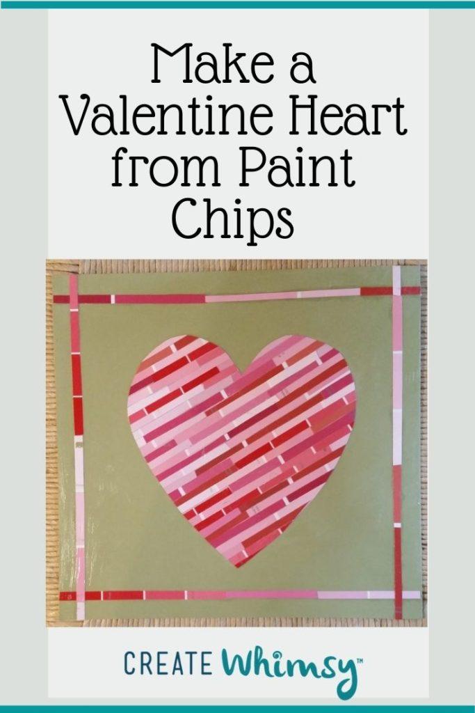 Paint Chip Heart 3