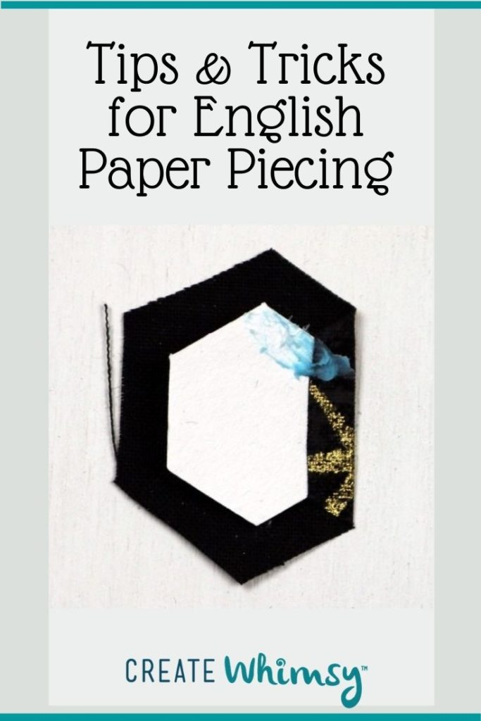 Tips and tricks for English Paper piecing Pin 6