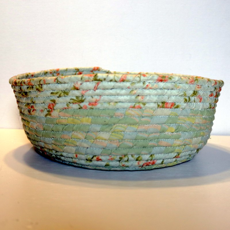 Fabric Coil Bowl Pastel