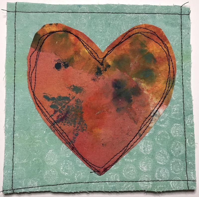 Fabric Valentine 4 2021 Finished