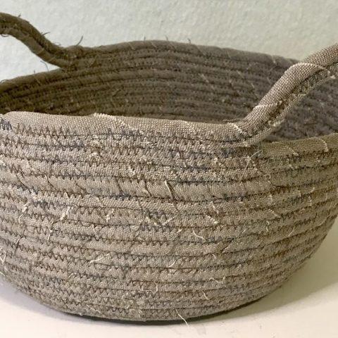 Fabric basket Finished
