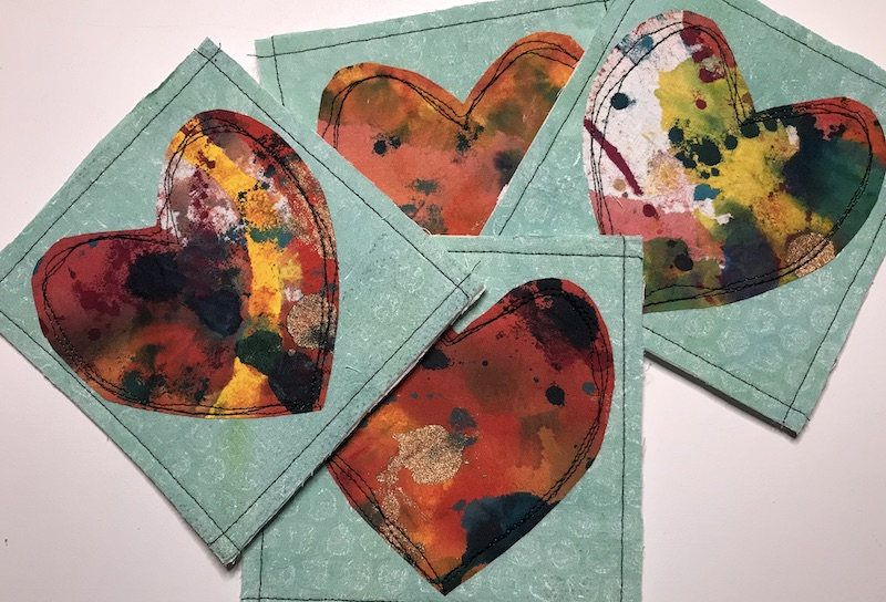 Finished Fabric Valentines 2021