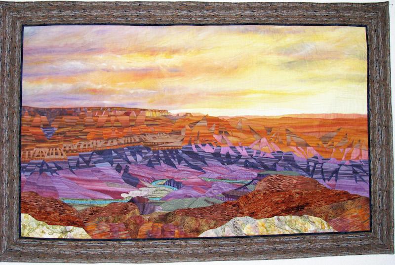 Grand Canyon Sunset by Meri Vahl
