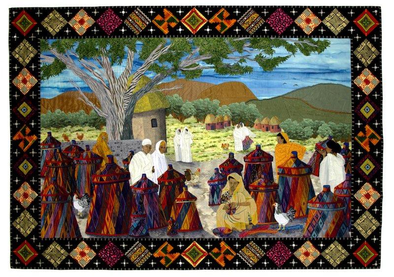 The Basket Makers of Axoum, Ethiopia by Meri Vahl