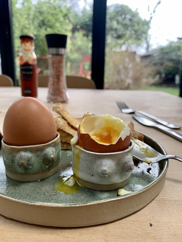 Boobie egg cups