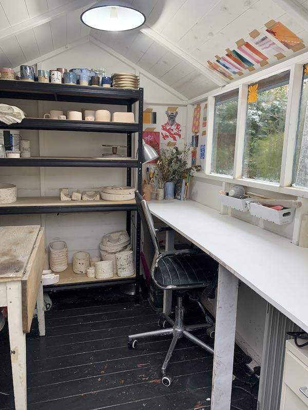 Georgie's studio