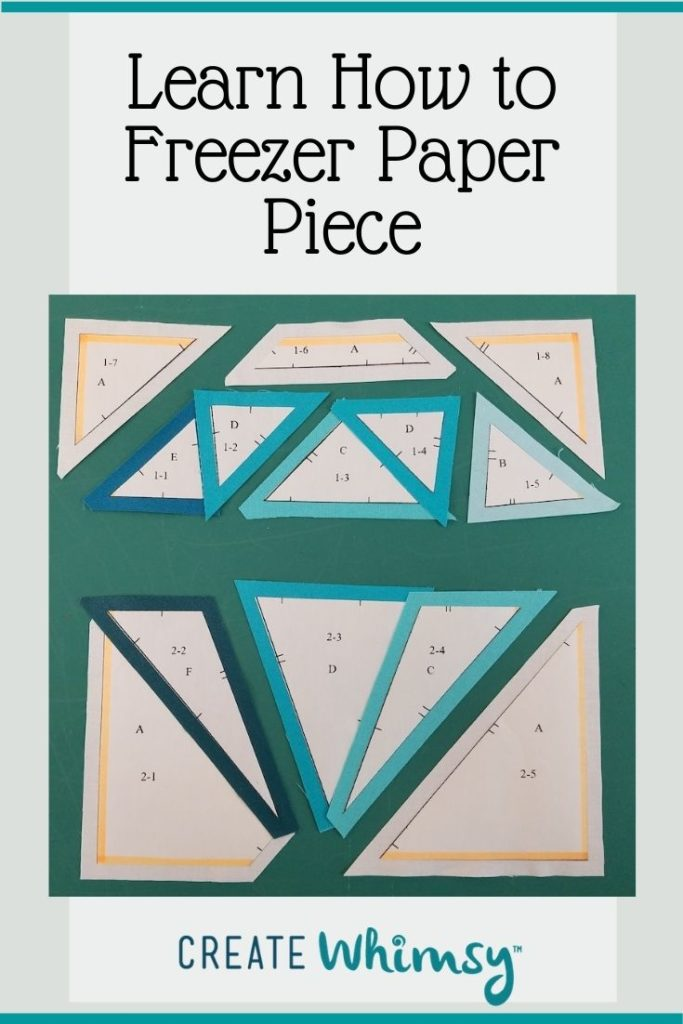 How to freezer paper piece Pin 4
