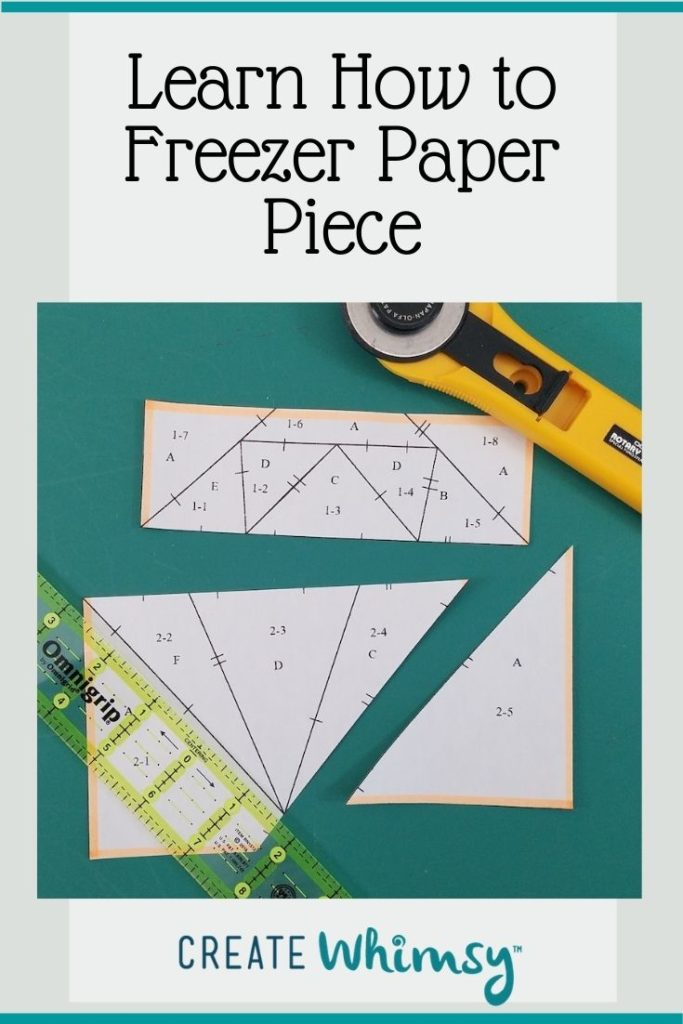 How to freezer paper piece Pin 6